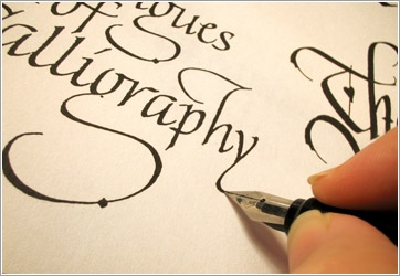 Courses on calligraphy