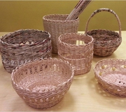 Enrolment for the course in «Paper basketry»